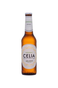 CELIA ORGANIC GLUTEN FREE CZECH LAGER 330ML 6 PACK**SHORT DATED**