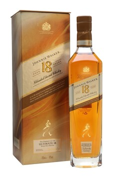JOHNNIE WALKER  18 YEAR OLD BLENDED WHISKY 40% 750ML