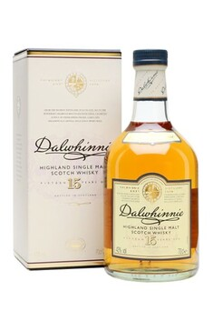 DALWHINNIE 15 YEAR OLD HIGHLAND SINGLE MALT WHISKY 43% 700ML