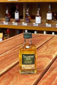 TULLAMORE DEW IRISH WHISKEY 50ML MINI