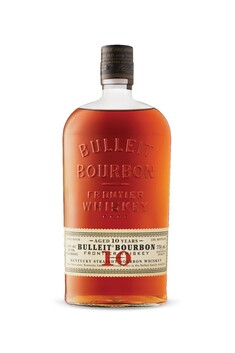 BULLEIT BOURBON 10 YEAR OLD 45.6% 700ML
