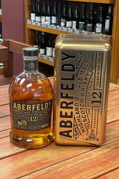 ABERFELDY 12 YEAR OLD 1LTR HIGHLAND SINGLE MALT WHISKY