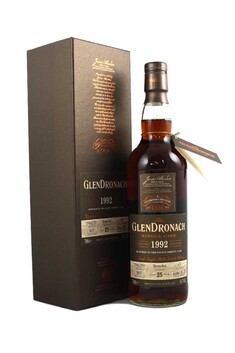 GLENDRONACH SINGLE CASK 1992 25 YEAR OLD SHERRY BUTT HIGHLAND SINGLE MALT WHISKY 50.9% 700ML