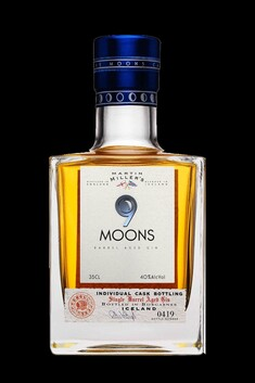 MARTIN MILLER 9 MOONS GIN 40% 350ML  (WS)
