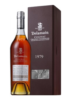 DELAMAIN COGNAC GRANDE CHAMPAGNE 1979  IN GIFT BOX 40% 700ML