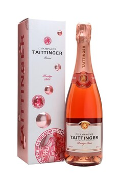 TAITTINGER PRESTIGE ROSE NV CHAMPAGE 750ML 12%