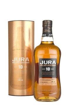 JURA 10 YEAR OLD  SINGLE MALT WHISKY 40% 700ML