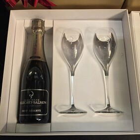 BILLECART BRUT RESERVE 375ML GIFT PACK