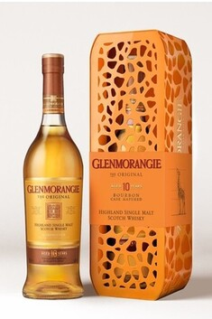 GLENMORANGIE ORIGINAL 10 YEAR OLD 40% 700ML IN GIRAFFE GIFT TIN
