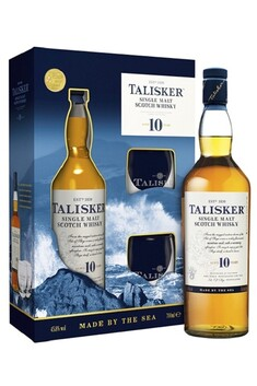 TALISKER 10 YEAR OLD GIFT SET WITH GLASSES