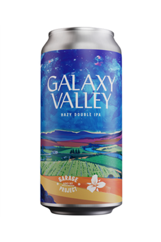 GARAGE PROJECT GALAXY VALLEY HAZY DOUBLE IPA 8% 440ML CAN