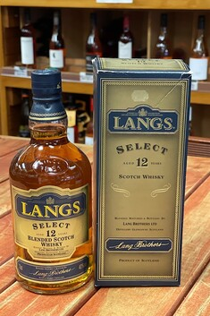 LANGS SELECT 12 YEAR OLD WCOTCH WHISKY 700ML 40%