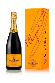 VEUVE CLICQUOT BRUT 750ML GIFT BOX