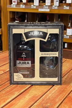 JURA SUPERSTITION GIFT SET WITH 2 X GLASSES