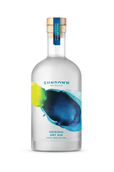 SUNDOWN ORIGINAL DRY NZ GIN 40% 700ML