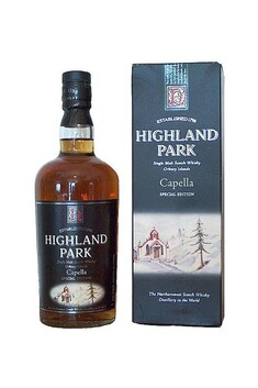 HIGHLAND PARK CAPELLA SPECIAL EDITION ORKNEY ISLANDS SINGLE MALT WHISKY 40% 700ML