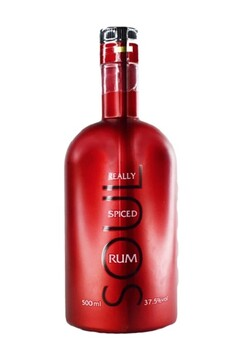 SOUL REALLY SPICED NZ RUM 37.5% 500ML