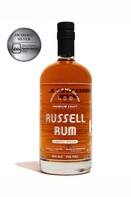 RUSSELL LIGHTLY SPICED NZ CARRIBEAN RUM 40% 700ML