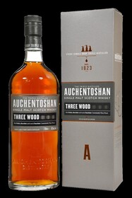 AUCHENTOSHAN THREE WOOD LOWLAND SINGLE MALT WHISKY 43% 700ML