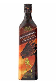 JOHNNIE WALKER GAME OF THRONES A SONG OF FIRE WHISKY 700ML