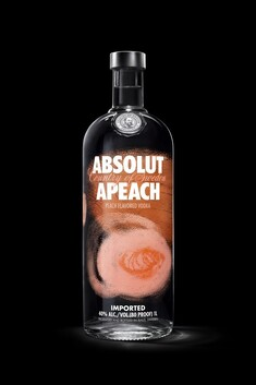 ABSOLUT APEACH VODKA 40% 700ML