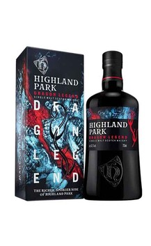 HIGHLAND PARK DRAGON LEGEND ORKNEY ISLANDS SINGLE MALT WHISKY 43.1% 700ML