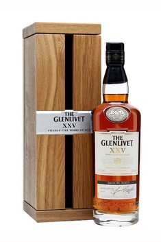 GLENLIVET 25 YEAR OLD SPEYSIDE SINGLE MALT WHISKY 43% 700ML