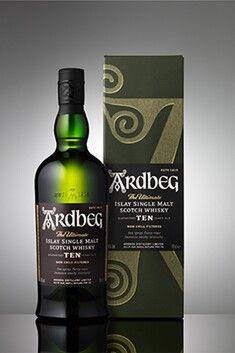 ARDBEG 10 YEAR OLD ISLAY SINGLE MALT WHISKY 46% 700ML